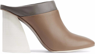 Mercedes Castillo May Color-block Leather Mules