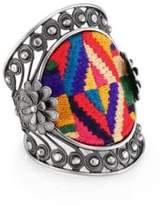 Valentino Native Couture Large Cuff