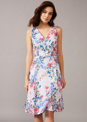 Phase Eight Robbie Floral Fit And Flare Dress