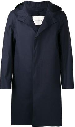 MACKINTOSH Chryston bonded cotton hooded coat