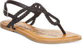 American Rag Keira Braided Flat Sandals, Only at Macy's