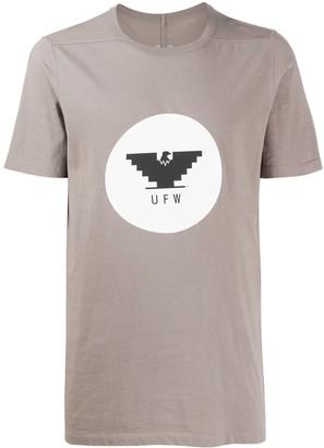 Rick Owens short sleeve logo T-shirt