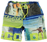 Name It Surf Collage Long Swim Shorts