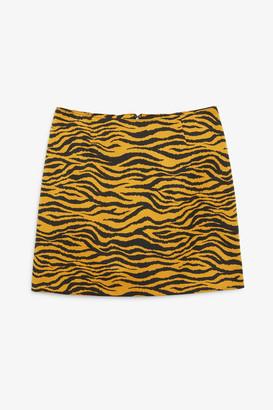 Monki High waist mini skirt