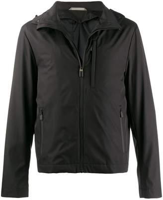 Canali slim-fit light jacket