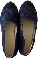 Chanel Blue Denim - Jeans Espadrilles
