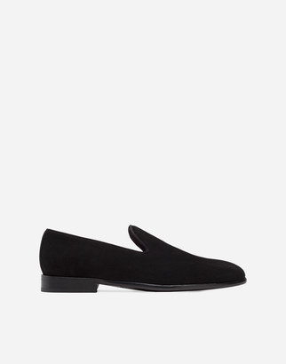 Dolce & Gabbana Slippers In Suede