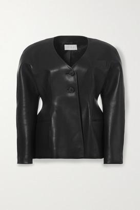 LVIR Faux Leather Jacket - Black