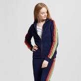 Mossimo Women's Beach Terry Track Jacket Navy