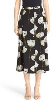 Lafayette 148 New York Women's Carissa Floral Print Skirt