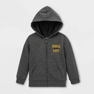 Fifth Sun Toddler Embrace Your Roots Zip-Up Hooded Sweatshirt -