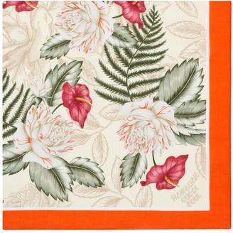 Gucci Hawaiian floral-print scarf