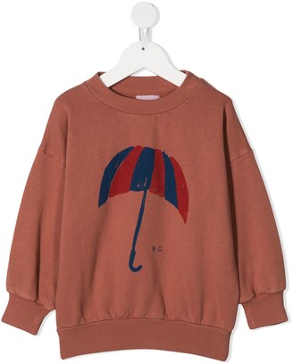 Bobo Choses Umbrella crewneck sweatshirt