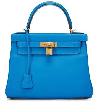 Hermes Blue Hydra Evercolor Kelly Retourne 28
