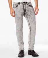 INC International Concepts Men's Hammond Skinny-Fit Acid Wash Jeans, Only at Macy's