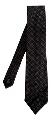 Gucci Black Silk Ties