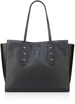 Anne Klein Julia East/West Studded Leather Tote