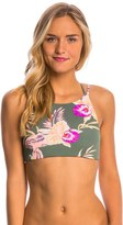 Roxy Castaway Floral Crop Bikini Top 8147396