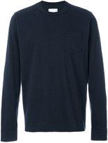 Sacai classic long sleeved T-shirt - men - Cotton - III