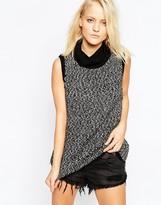 Shae Tilda Sleeveless Turtleneck Sweater