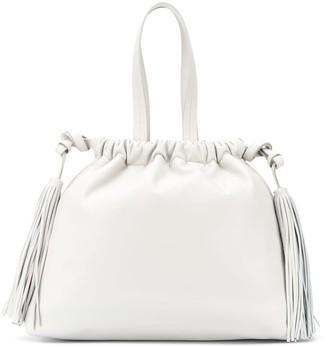 ATTICO Drawstring Tassel-Detail Tote Bag