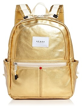 State Downtown Kane Mini Metallic Backpack