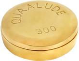 Jonathan Adler Brass Pill Box - Quaalude