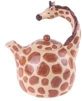 Blue Sky Ceramic Giraffe Teapot