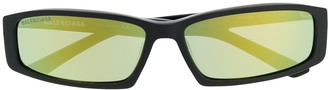 Balenciaga Eyewear rectangle frame sunglasses