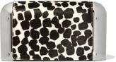Michael Kors Paneled printed calf hair clutch