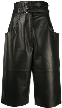 Proenza Schouler Double-Belted Long Shorts