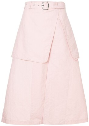 Sies Marjan Belted Layered Skirt