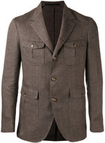 Eleventy chest pocket blazer