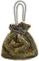 Reversible Faux Fur & Faux Leather Bag