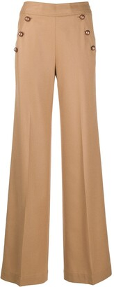 Pt01 Wide-Leg Tailored Trousers