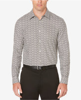 Perry Ellis Big & Tall Men's Oxford Floral-Print Cotton Shirt