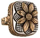 Stephen Dweck Two-Tone Flower Ring