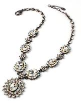 Amrita Singh Austrian Crystal Heather Pendant Necklace