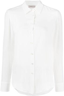Blanca Vita Loose-Fit Silk Shirt