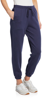 Vince Drawstring Cotton Jogger Pants with Pockets