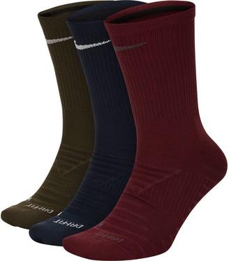 Nike Men's 3-pack Pro Everyday Max Cushioned Crew Socks