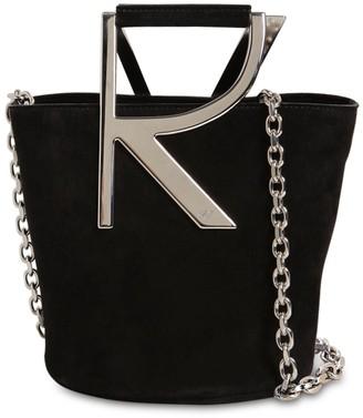 Roger Vivier Suede Bucket Bag