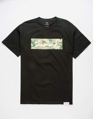 Diamond Supply Co. Camo Box Logo Mens T-Shirt