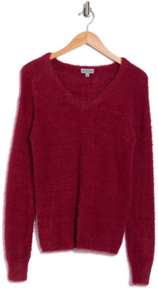 Joseph A Long Sleeve V-Neck Pullover