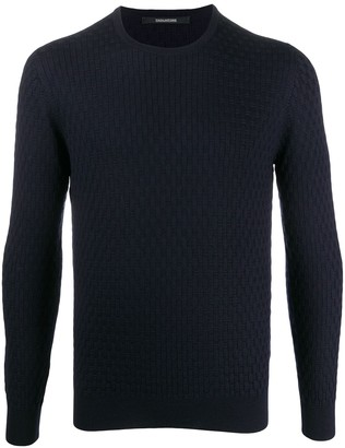 Tagliatore Patterned Crew Neck Jumper