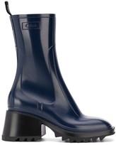 Chloé chunky heel welly boots