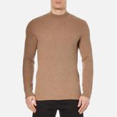 Selected Men's Lex High Neck Knitted Sweatshirt