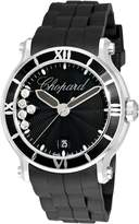 Chopard Women's 288525-3005 Happy Sport Round Waved Dial Watch