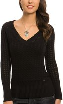 Dusk Double V-neck Sweater
