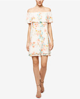 Sanctuary Lulu Printed Flounce Dress